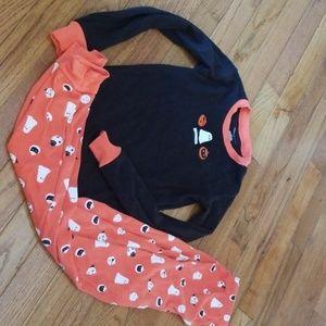 Janie and jack boys Halloween pajamas 7/8